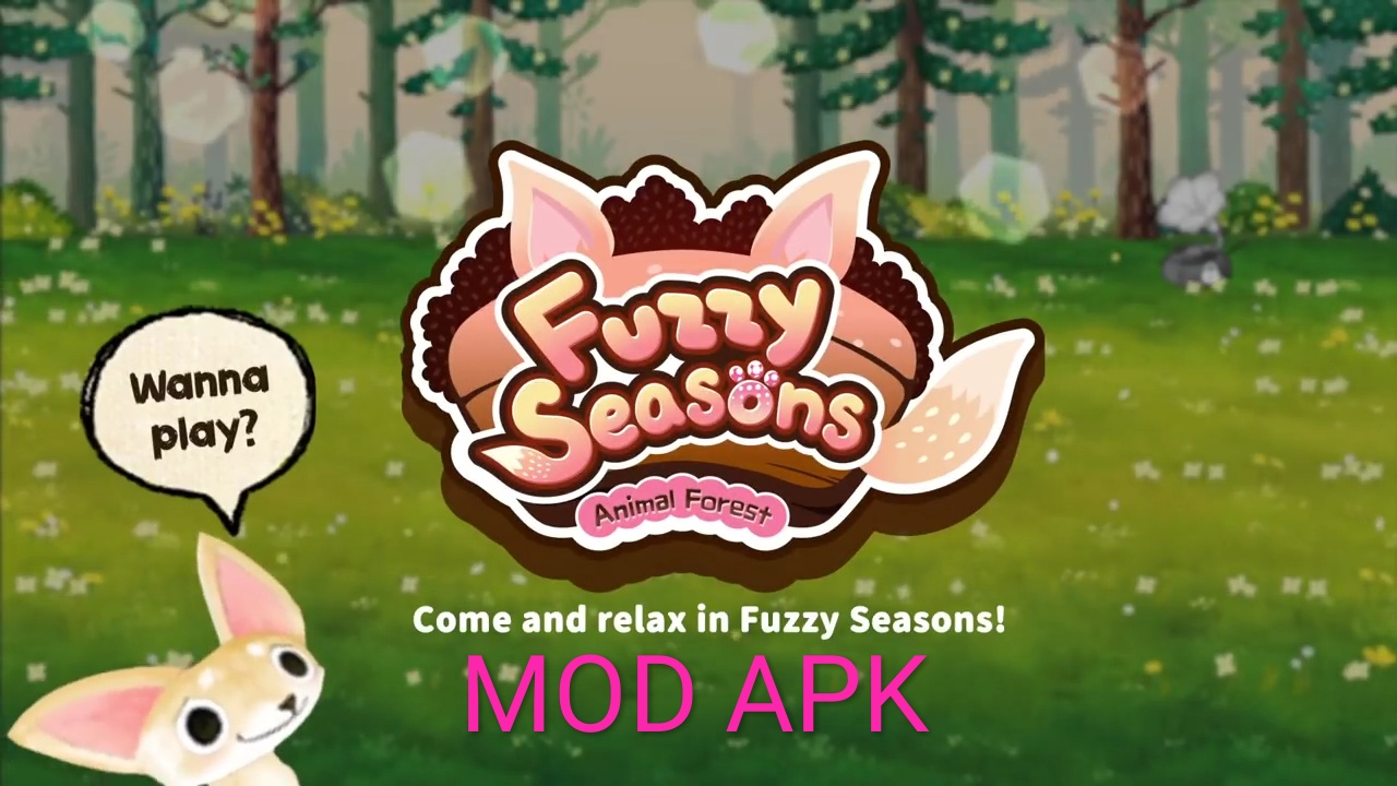 Animal Forest: Fuzzy Seasons MOD APK