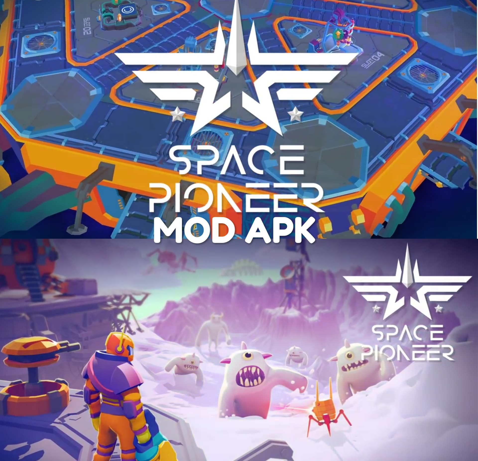 Space Pioneer: Alien Shooter MOD APK