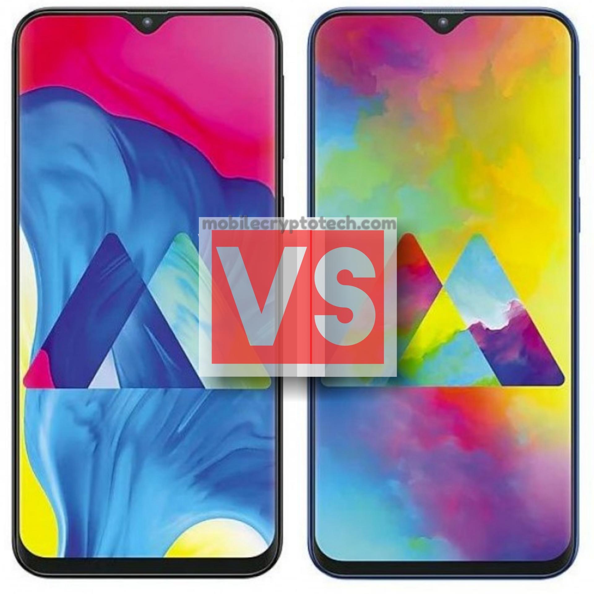 Samsung Galaxy M10 Vs M20