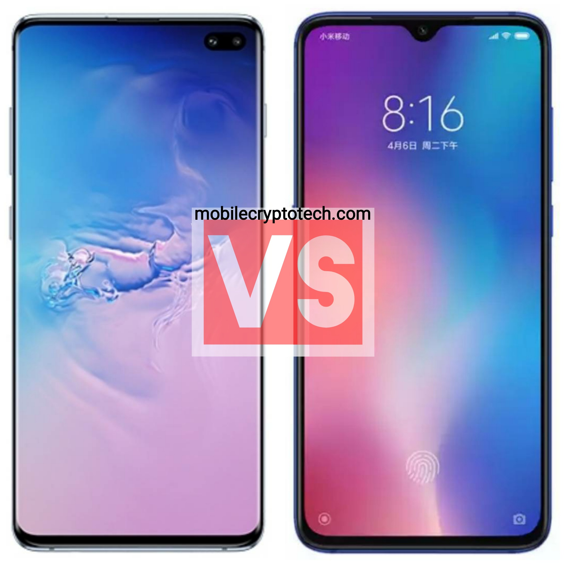 Samsung Galaxy S10 Plus Vs Xiaomi Mi 9
