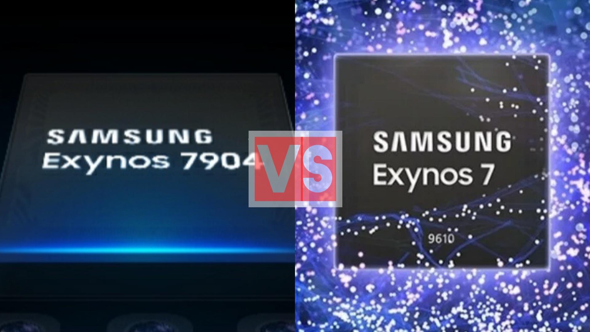 Samsung Exynos 7904 Vs 9610