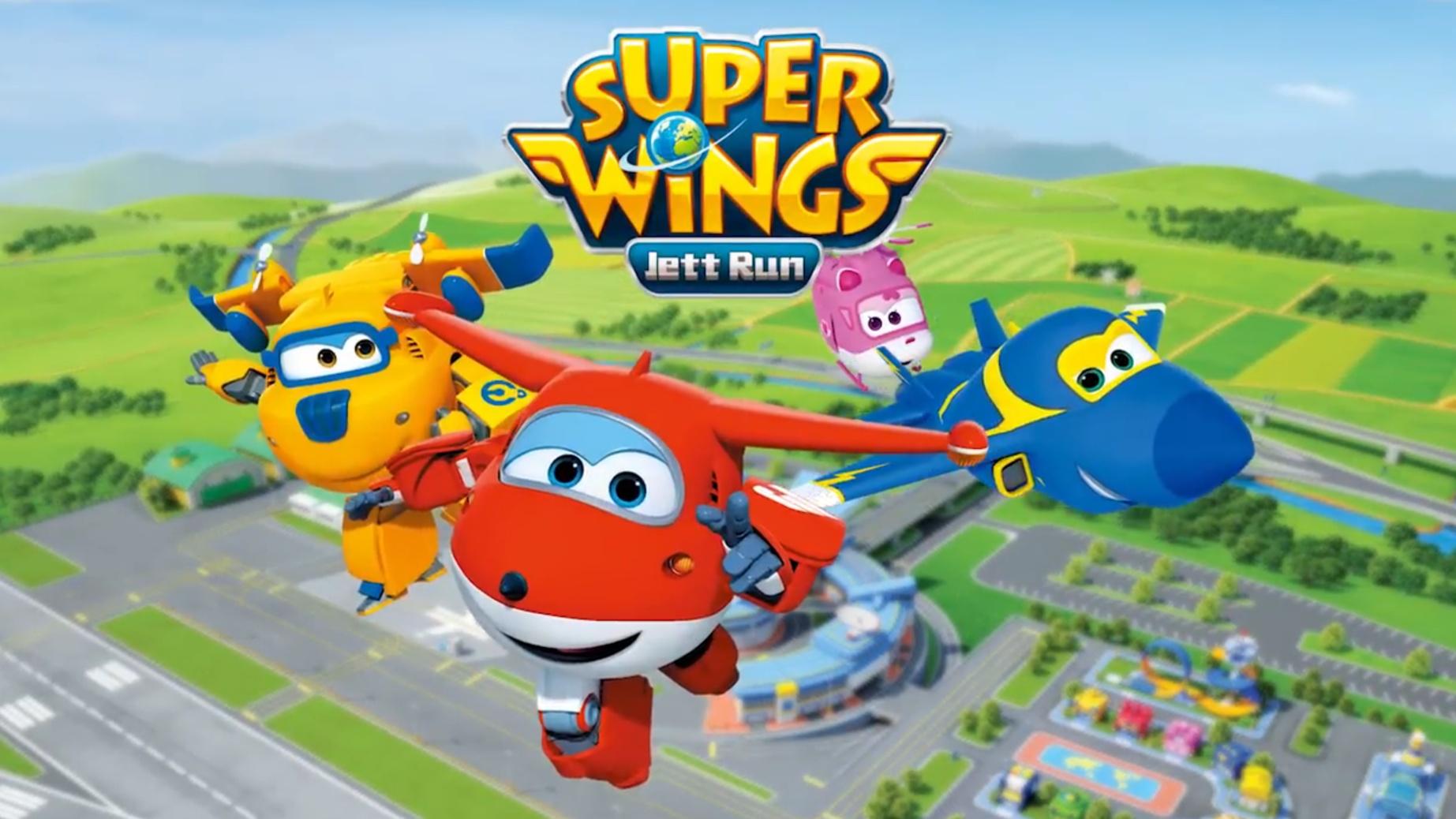 Super Wings: Jett Run MOD APK